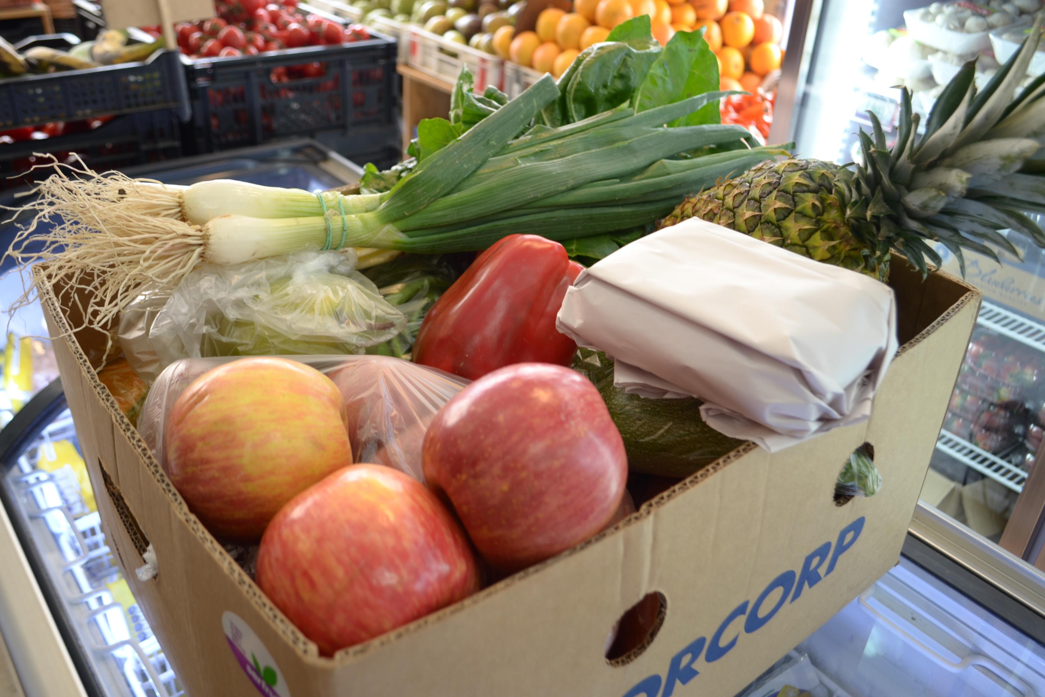 caja de fruta despacho